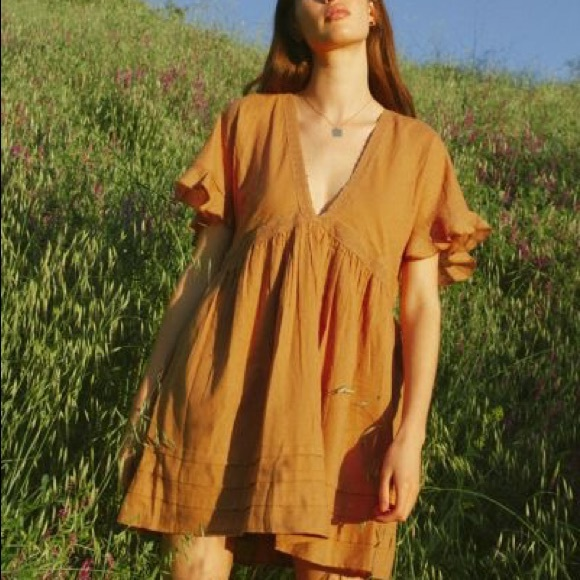 Urban Outfitters V-Neck Mini Dress